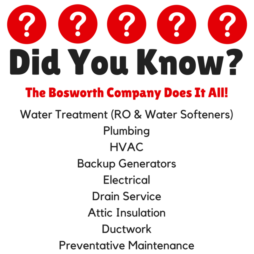 Bosworth home services