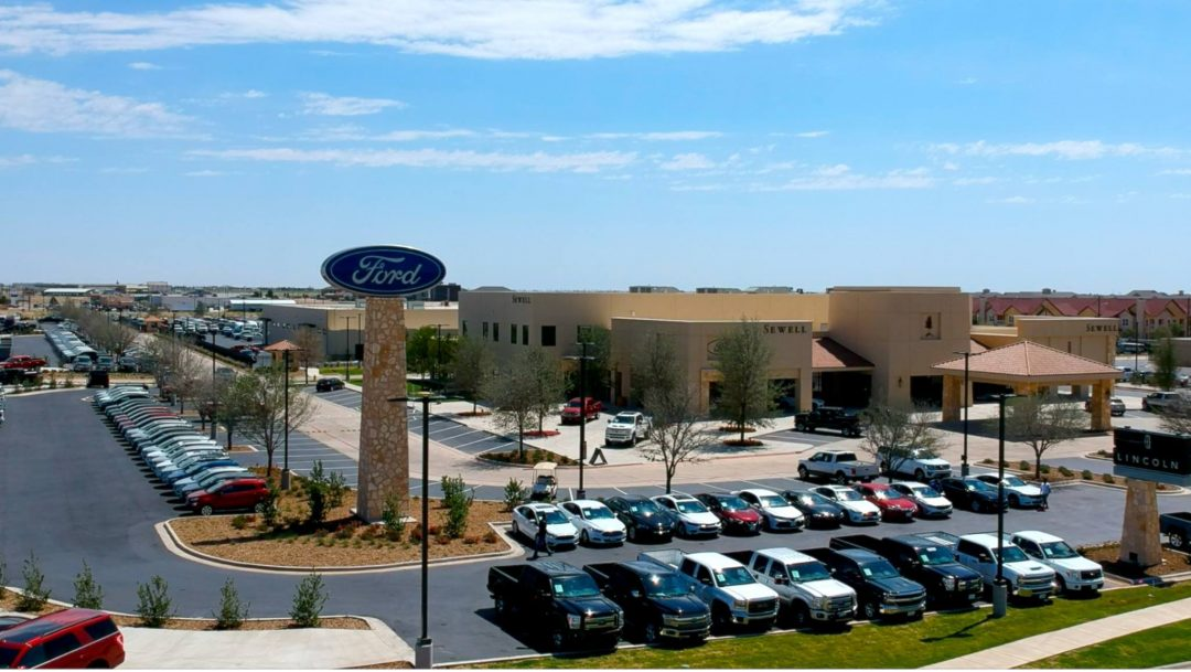Ford Dealership Midland Tx >> Sewell Ford - The Bosworth Company - Midland